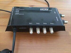 Antsig 4 way Indoor distribution amplifier Bateman Melville Area Preview