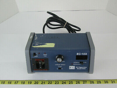 E-c Apparatus Corp Minicell Compact Power Supply Ec-103 Science Lab Equipment