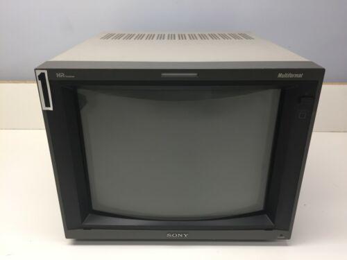 "Sony PVM-14L5 HD 14"" Video Monitor CRT with SDI RGB Component - AM W1A"