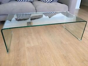 Freedom glass coffee table Como South Perth Area Preview