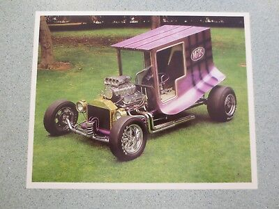 Vintage 1960's The Milk Truck Show Car Print by Jay Ohrberg