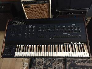 Vintage synth Oberheim OBXA