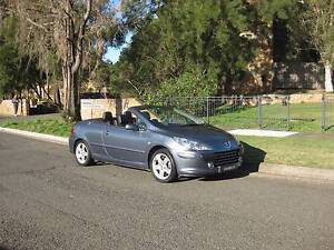 2006 Peugeot 307 Convertible 5 Spd Manual only 87820Kms Log Book Five Dock Canada Bay Area Preview