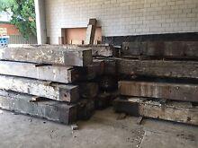 Hardwood beams 300 x 300 x 4.5m per beam Croydon Burwood Area Preview