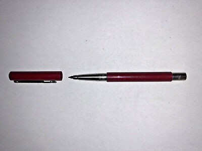 Parker Vector Gel Ink Refillable Roller Ball Pen Maroon / Burgundy