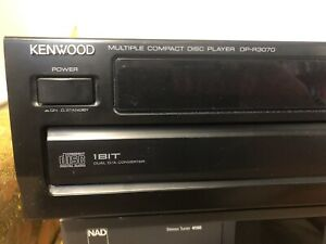 Kenwood 5 cd changer stereo component