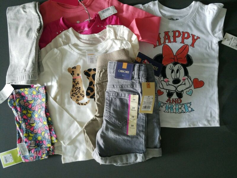 Girls NEW Clothes LOT Size 3T BRAND NEW w/ TAGS