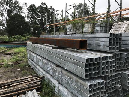 Steel Box Hot Dipped Galvanised