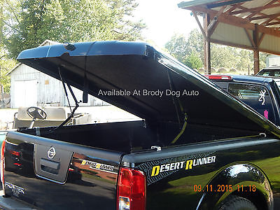 Fiberglass Hard Tonneau Bed Cover For Nissan Frontier PAINTED 2005-2020 Legacy