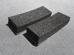 GUITAR/BASS PICKUP HEIGHT ADJUSTMENT FOAM/SPONGES X 2 - H 8mm X W 15mm X L 45mm