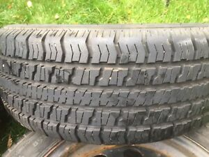 205/55R16 winter tires and steel rims