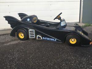 Batmobile 1989 de Batman son auto