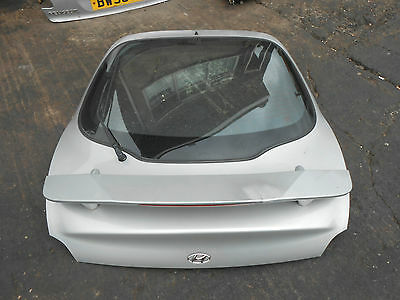 HYUNDAI COUPE RD2 2001 HATCHBACK BOOT LID TAILGATE LS SMART SILVER METALLIC