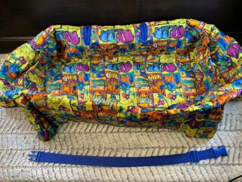 Clean Shopper cotton Jungle Animal theme shopping cart cover for baby