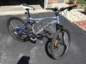 Like new CCM Scope full suspension mountain bike