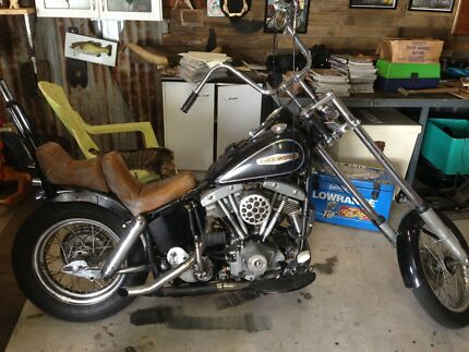 1969 flh shovel. Harley Davidson chopper Beerwah Caloundra Area Preview