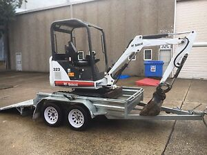 Bobcat 323 mini Excavator low hours + bucket set Caringbah Sutherland Area Preview