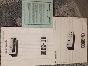 Pioneer, Dual & Kenwood Manuals