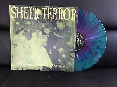 SHEER TERROR Old New Borrowed & Blue LP NYHC Negative Approach Fathead Suburbia