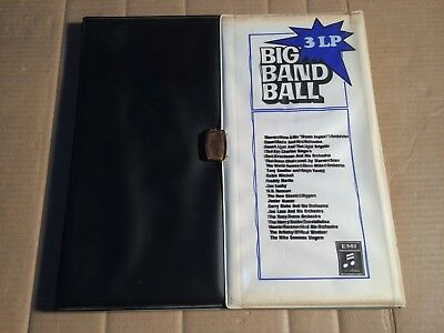 BIG BAND BALL - BASIE / ENOCH LIGHT / DOC SEVERINSEN / JOE LOSS u.a. - 3 LP