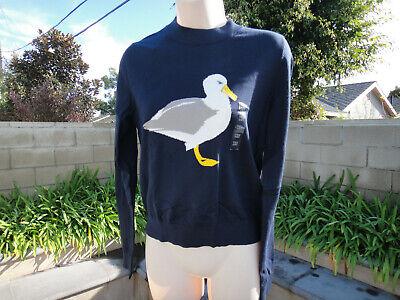 J.W. Anderson x Uniqlo Collab, JWA Cotton Crewneck Sweater, Navy Cotton XSmall