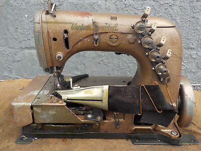 Industrial Sewing Machine Union Special 52-800 Binder-two Needle Cover