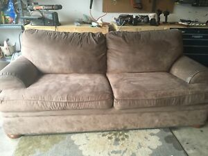 Sklar Peppler Microfibre Couch