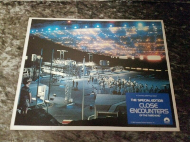Close Encounters Of The Third Kind lobby cards  - Lot of 6
