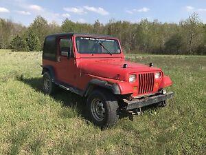 89 Jeep YJ