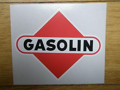 Tanksäule Tankzapfsäule Tankstelle Gasolin Aufkleber gaspumpdecal pompe essence