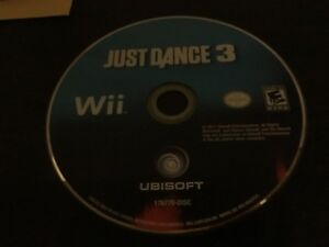 3 just dance wii games