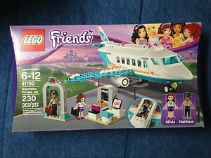 Retired Lego set 41100 Friends Heartlake Private Jet