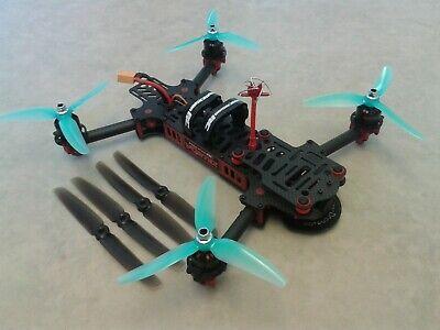RC Racing Drone ImmersionRC Vortex 285 Quadcopter OSD FPV Camera 6030 Props More