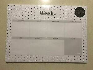 Kikki K Weekly Planner Pad Burwood Burwood Area Preview