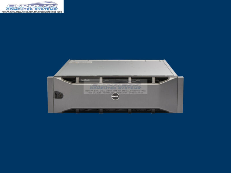 Dell Equallogic Ps6000x 16x 600gb 10k Sas 1gbe Dual Type 7 Ctrl Ps6000 Iscsi San