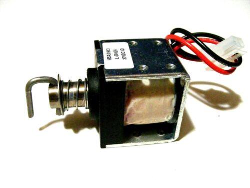 Magnet-Schultz 33vDC SOLENOID 0943-L-09629, Drawer Lock Actuator,Pyxis 3500 Cart
