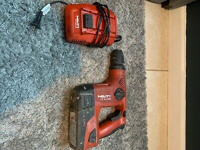 Hilti Rotary Hammer Drill Te 4-a18 With Battery