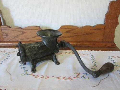 Vintage Antique Enterprise Mfg Co Improved Meat Grinder Chopper #12 Cast Iron