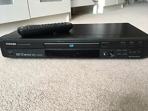 Toshiba DVD player with remote