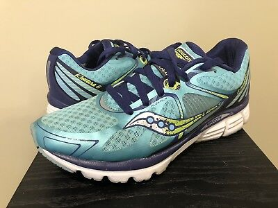 SAUCONY Kinvara 6 Running Shoes WOMENS 8 39 Blue  Laces Sneakers S10282-2