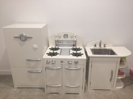 Pottery and Barn kids kitchen