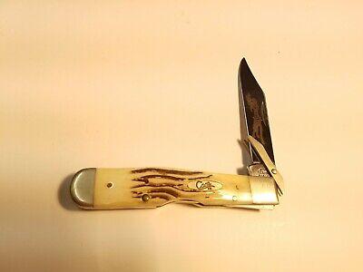CASE XX 6111 L 1/2 SS Cheetah knife bone handle