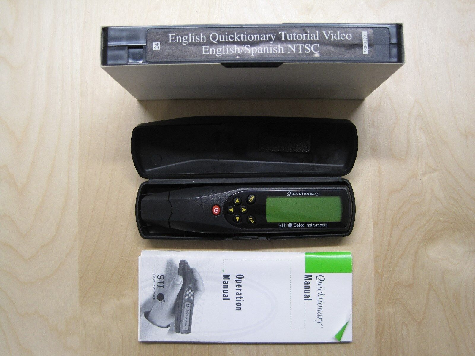 Seiko Instruments SII Quicktionary English Spanish Translator