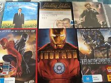 13 DVD lot. Ironman, Spider-Man, transformers Bligh Park Hawkesbury Area Preview