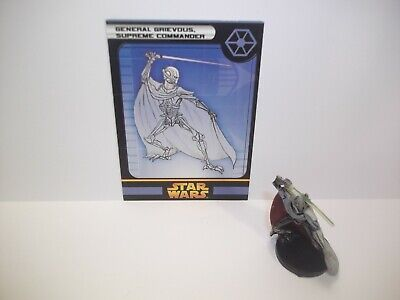 Star Wars Miniatures - General Grievous, Supreme Commander 32/60 - Rare ROTS