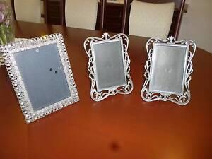 Silver metal photo frames Mount Annan Camden Area Preview