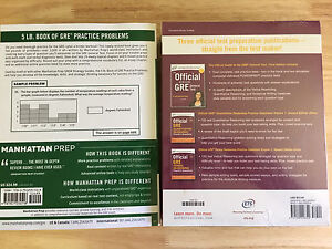 GRE study materials (brand new/unused)