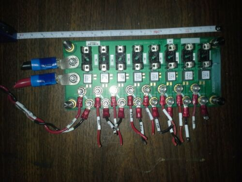 Power Distribution Panel with fuses. Power bus panel 8 nodes 10A ea Filtered DC