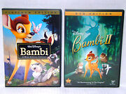 Bambi DVD Lot