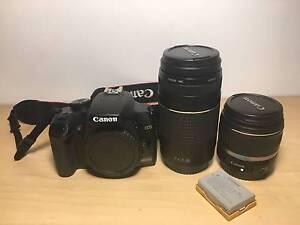 Canon EOS Rebel xs 1000D plus 2x lenses and more Bundoora Banyule Area Preview